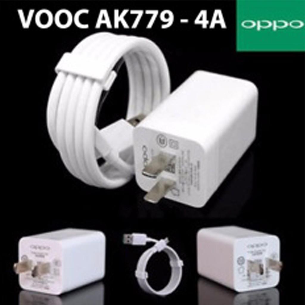 Bộ Sạc Nhanh VOOC OPPO 4.0 AK779 Find 7/ Find 7a, R7s/ R7 Plus, R9/ R9 Plus, R5, N3, F1 Plus2017