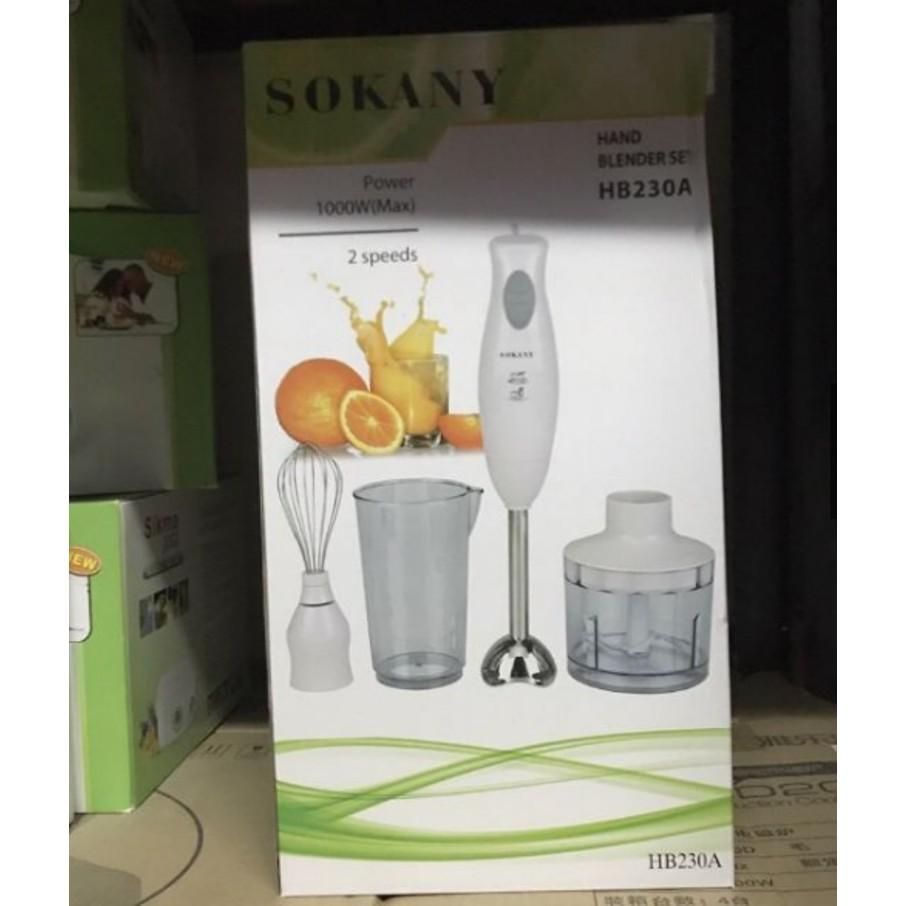 Máy xay cầm tay đa năng Sokany HB230 - 3469579 , 800465746 , 322_800465746 , 990000 , May-xay-cam-tay-da-nang-Sokany-HB230-322_800465746 , shopee.vn , Máy xay cầm tay đa năng Sokany HB230