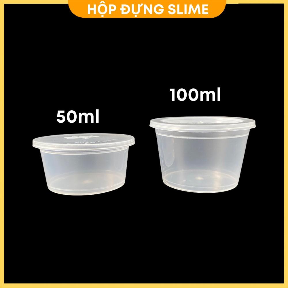 Hộp đựng slime và carmen đủ các kích cỡ (Hộp size S, M)