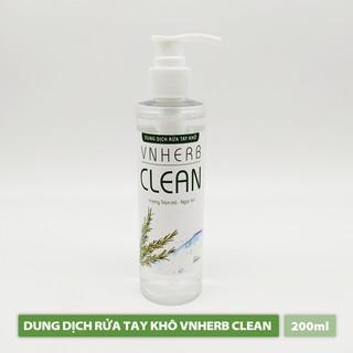 Nước Rửa Tay Khô - VNHERB CLEAN (200ml)-0
