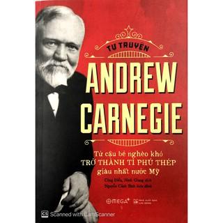 Sách - Tự Truyện Andrew Carnegie (Tái Bản 2018) thumbnail