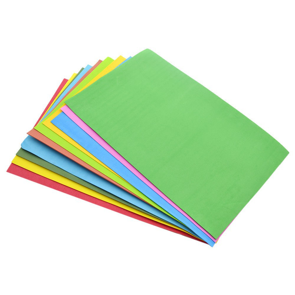 10 Tấm giấy bọt biển cỡ A4
