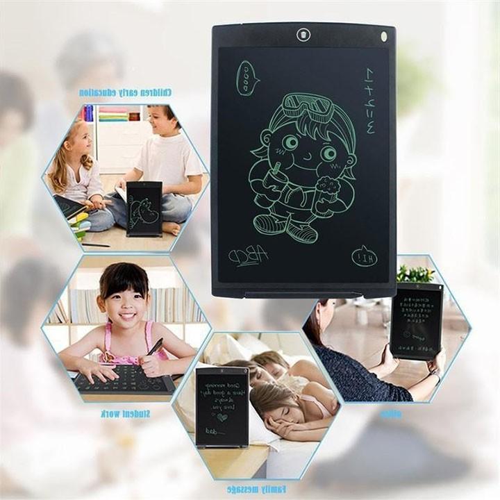 Bảng viết, bảng vẽ điện tử tự xoá, bảng tập viết thông minh cho bé vui chơi và học tập