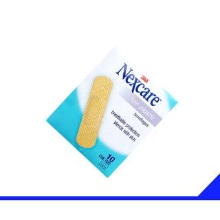 Băng Dán vết thương 3M Nexcare Tan Plastic Màu Da (10 miếng/gói)