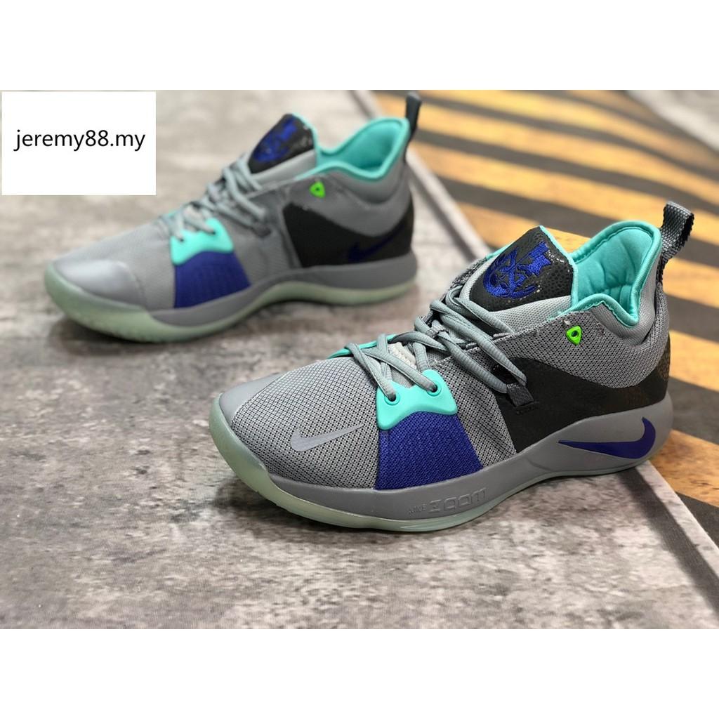 sale retailer 87508 b3cc5 รองเท้าผู้ชาย แท้ รองเท้ากีฬา รองเท้าบาสเก็ตบอล Nike PG EP ...