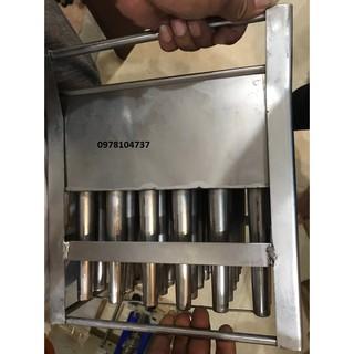 Khuôn kem ống, khuôn kem ống dài, kem ống, khuôn kem cứng,khuôn kem que,khuôn làm kem ống inox 305 54 que