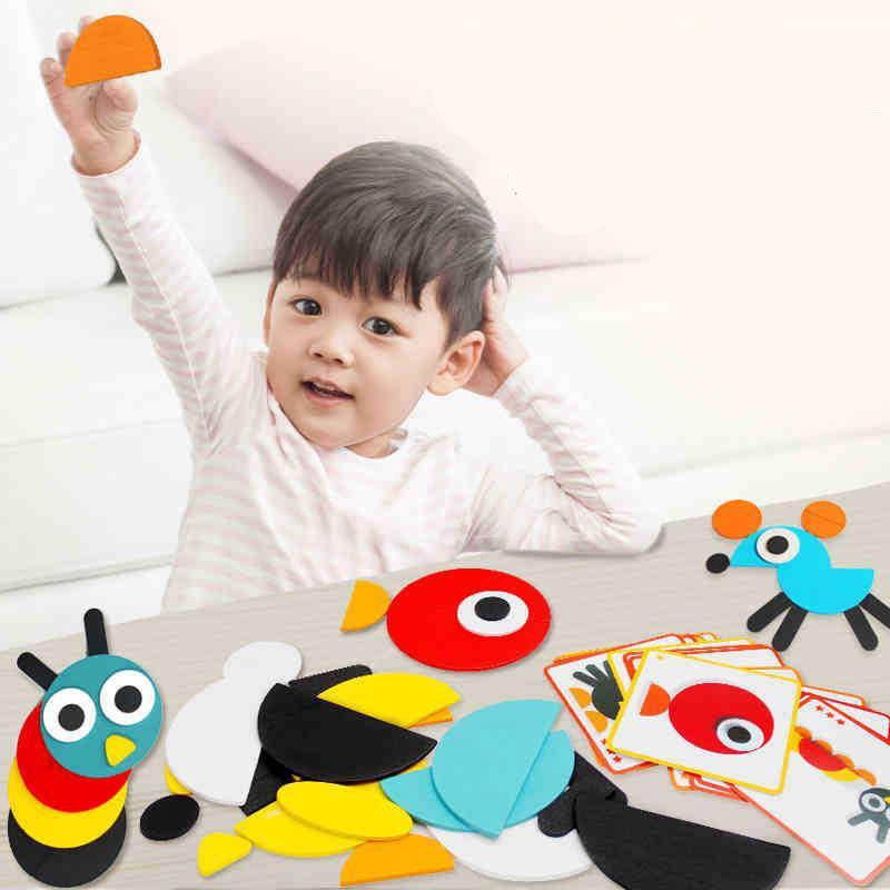 Đồ chơi giáo dục cho trẻ hình dạng các nhân vật hoạt hình