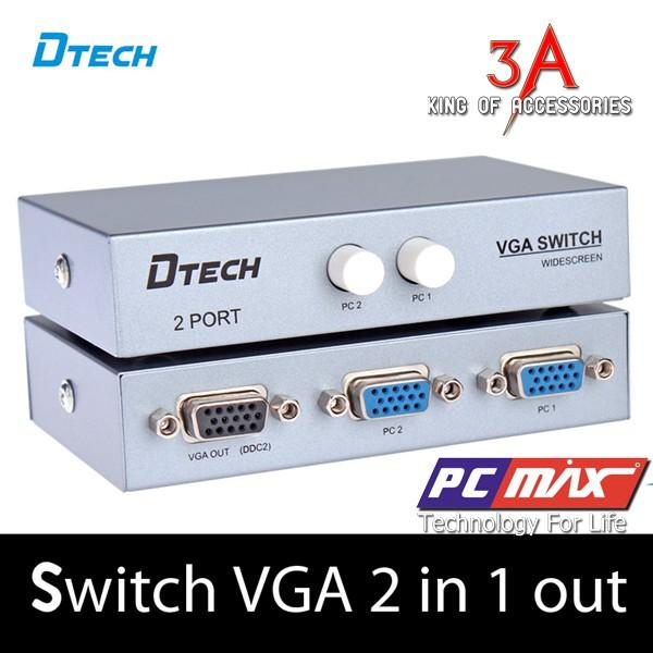 BỘ CHIA VGA 2 CPU CHIA 1 MÀN HÌNH DTECH- 7032 - 14226822 , 1307186945 , 322_1307186945 , 140000 , BO-CHIA-VGA-2-CPU-CHIA-1-MAN-HINH-DTECH-7032-322_1307186945 , shopee.vn , BỘ CHIA VGA 2 CPU CHIA 1 MÀN HÌNH DTECH- 7032