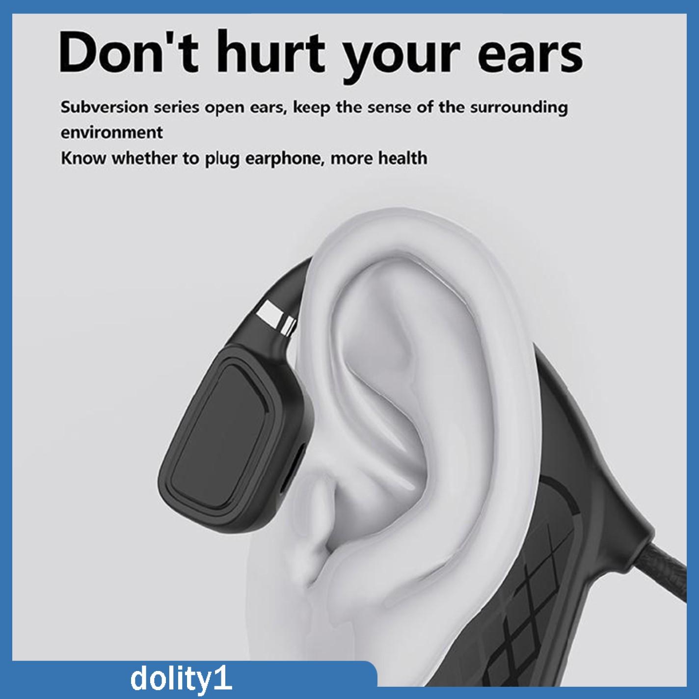 Tai Nghe Bluetooth Truyền Âm Qua Xương Chống Mồ Hôi