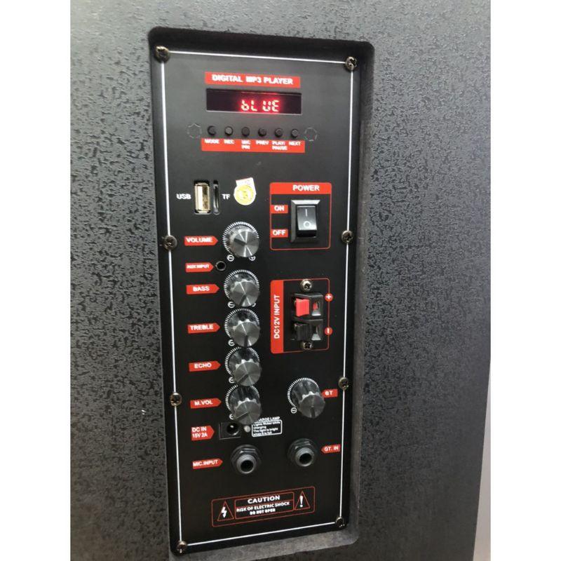 Loa kéo JBL 1508 - Tặng kèm 2 Micro ko dây , hình ảnh thực tế