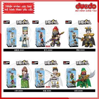 [Có sẵn] Decool 2030A Minifigures các nhân vật tướng TAM QUỐC tuyệt đẹp - Đồ chơi Lắp ghép Xếp hình Mô hình Mini thumbnail
