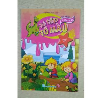 Combo 8 quyển Tập tô màu nhiều chủ đề cho bé [SKU: SP039510]