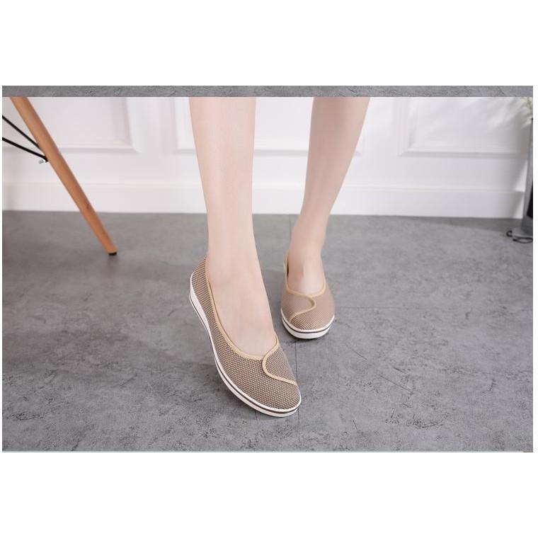 giày lười nữ,giày nữ đế xuồng 5cm xinh lung linh