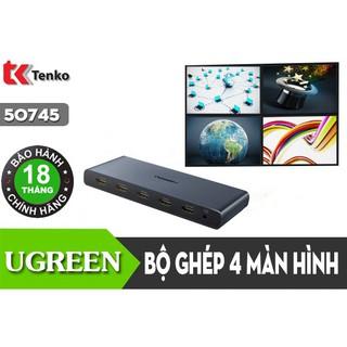 Bộ Gộp 4 Thiết Bị HDMI Ra 1 Màn Hình Ugreen 50745 thumbnail