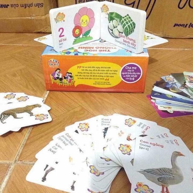 Bộ thẻ học thông minh 16 chủ đề cho bé yêu - 3133370 , 1257601522 , 322_1257601522 , 69000 , Bo-the-hoc-thong-minh-16-chu-de-cho-be-yeu-322_1257601522 , shopee.vn , Bộ thẻ học thông minh 16 chủ đề cho bé yêu