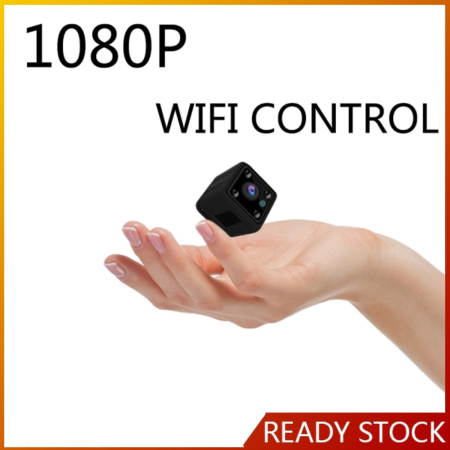 Small Mini Wifi Camera IP Wireless 1080P HD P2P Video CCTV Nanny Body Cam Home Security World Giá chỉ 326.500₫