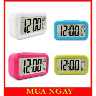 Đồng hồ báo thức điện tử thông minh để bàn mini DH89;
