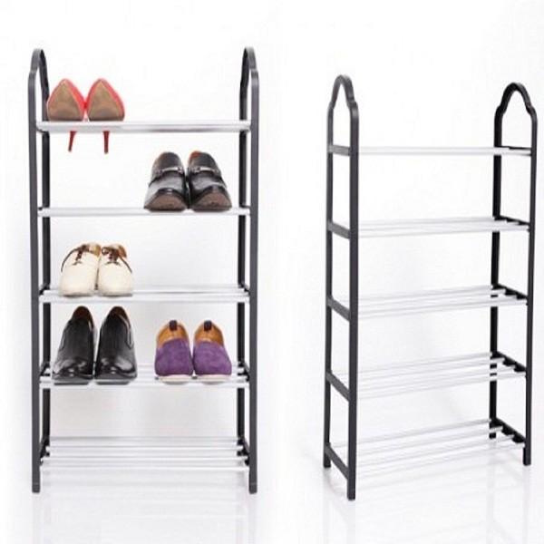 Kệ giày dép cao cấp 5 tầng tiện ích Hando