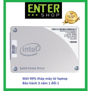 Ổ cứng SSD 180Gb Intel Pro 512 tháo máy chạy ngon