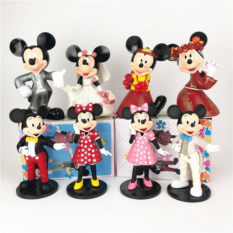 Đầm Cưới Kiểu Hoạt Hình Mickey Minnie Đáng Yêu Phong Cách Phương Tây