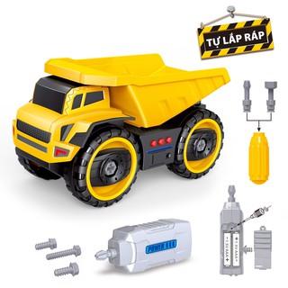 Đồ chơi DUKA ô tô mô hình xe ben tháo lắp được SF839618 thumbnail