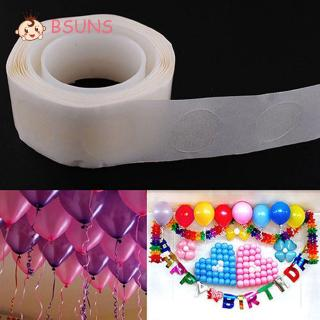 BSUNS 100 Dots Useful Fashion Party Supplies Home Decor Accessory Balloon Adhesives