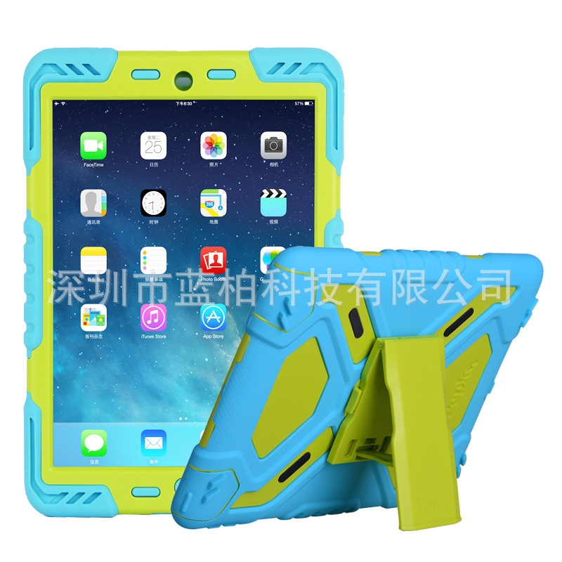 Anti-drop Protective iPad Cover Colorful Tablet Holder Stand Apple For iPad Pro 9.7 Case