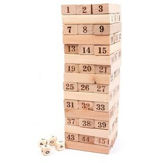 Bộ đồ chơi rút gỗ 48 thanh to