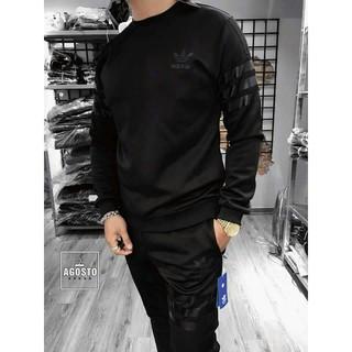 [MẪU MỚI] Bộ đồ áo thu đông nỉ thời trang nam dáng suôn cực phong cách