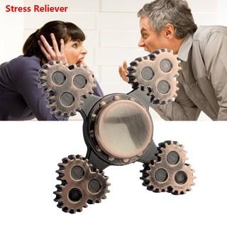 Gear Fidget Spinner Hand Finger Focus EDC Bearing Stress Toys Fingertip Gyro