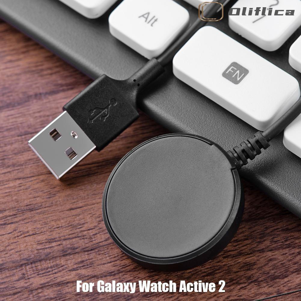 Dây Cáp Sạc Usb 1m Cho Đồng Hồ Thông Minh Samsung Galaxy Watch Active 2