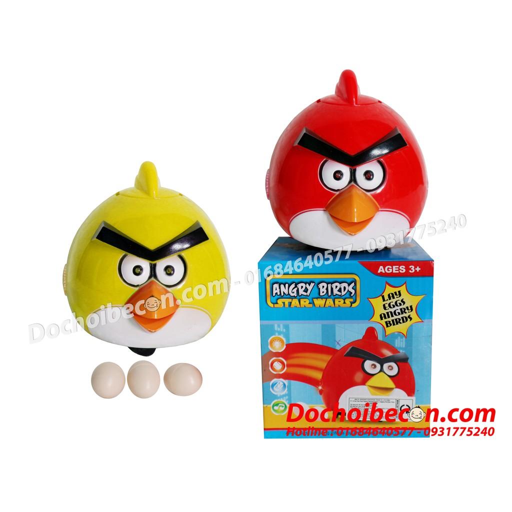 [FREESHIP đơn 99K] – Chim Angry Birds Đẻ Trứng: Dùng Pin, Có Nhạc (Không Kèm Pin)