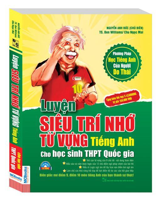 Sách - Luyện Siêu Trí Nhớ Từ Vựng Tiếng Anh Cho Hs Thpt Quốc Gia 35 (Mã QR) - 149k