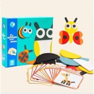Ghép hình trí tuệ Montessori