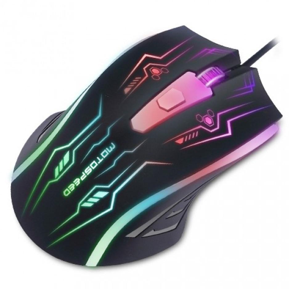 Chuột Mouse Game Motospeed F405 led 7 màu. Vi Tính Quốc Duy