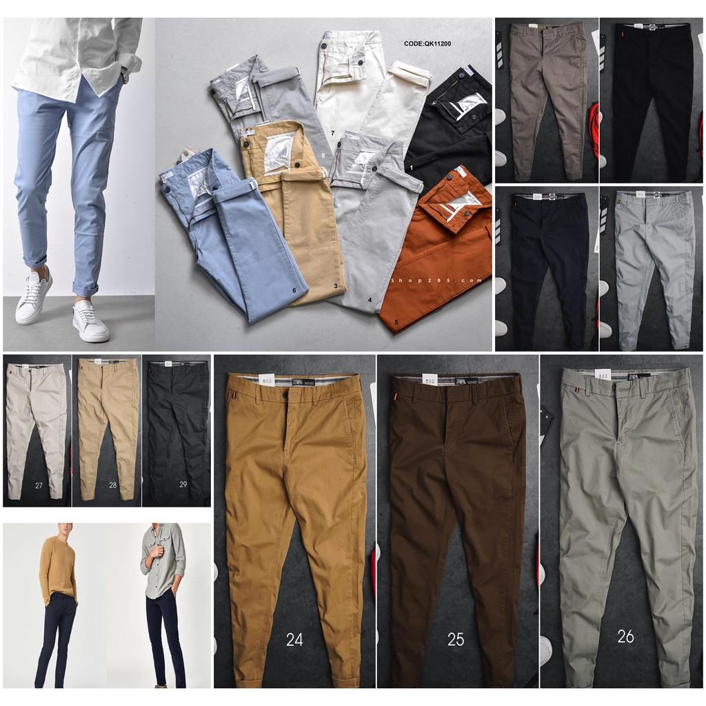 ROUTINE - Quần Kaki Nam SLIMFIT - 1 chiếc quần kaki chinos co giãn thoải mái tính ứng dụng rất phù hợp đi chơi đi l