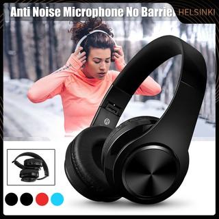 Tai Nghe Bluetooth Không Dây Âm Thanh Siêu Trầm Có Thể Gấp Gọn thumbnail