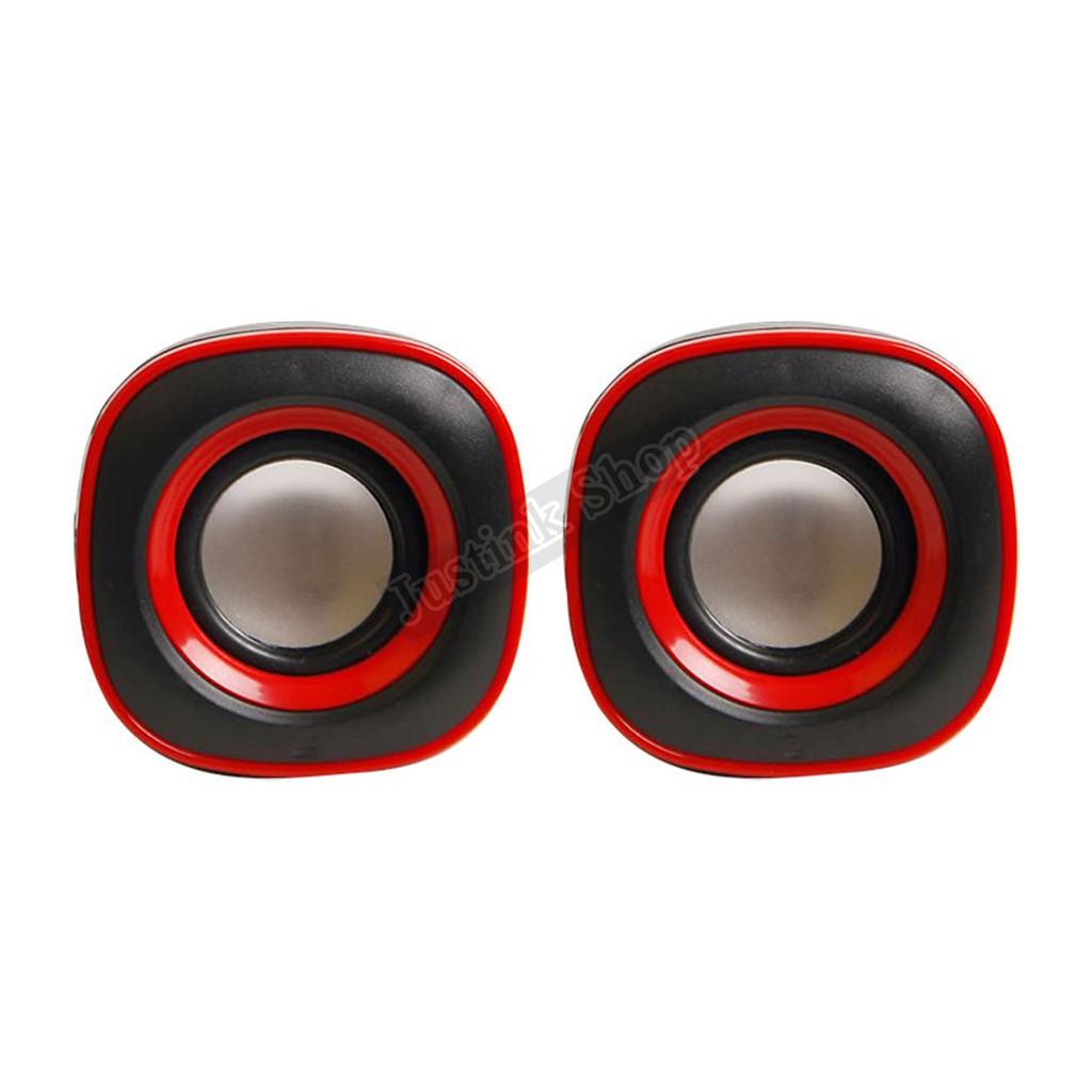 Bộ Loa Vi Tính 2 Loa Bass Cho Điện Thoại Máy Tính Laptop Ruizu 2.0 Ruizu RZ-480 - JLVQ-834-LVT480