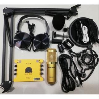 CHỌN BỘ HÁT THU ÂM KARAOKE BM900-XOX K10 2020 TẶI TAI CHỤP BH 6 tháng