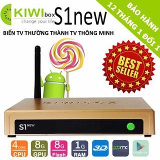 Android Tv Box Kiwibox S1 New - Kiwi S1 New bảo hành 1 năm