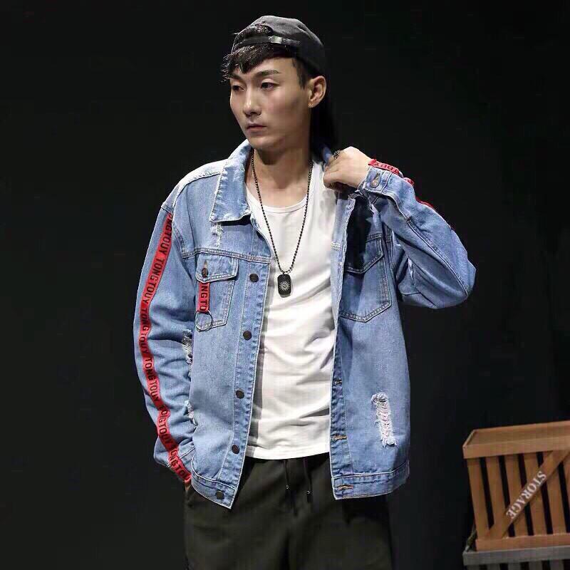 [Trợ giá SHIP 40K]Áo khoác jean nam thời trang hàn quốc siêu chất cao cấp | Áo khoác jeans nam sành điệu mẫu hot giá rẻ - Áo khoác jeans