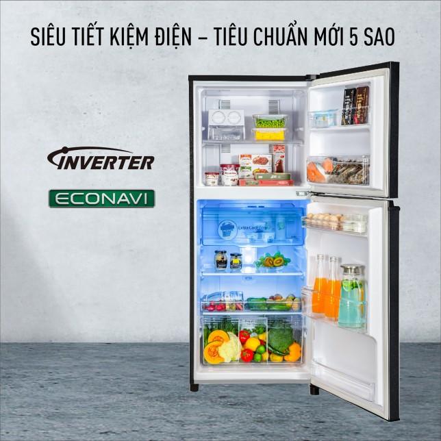 MIỄN PHÍ VẬN CHUYỂN HCM - NR-TV261BPKV- Tủ lạnh Panasonic Inverter 234 lít NR-TV261BPKV Mới 2021