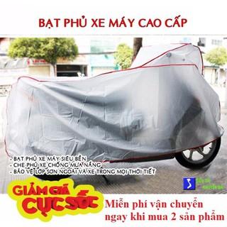 Yêu ThíchCombo 2 bạt phủ trùm xe máy, xe đạp, áo trùm xe chống nước chất lượng cao, giá siêu rẻ- dùng tất cả dòng xe máy