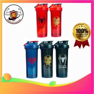 Shaker, Bình Nước Binh Lắc Thể Thao, Chạy Bộ, Tập Gym, Chơi Thể Thao DC Comic Pro (900ml) – Protein Center