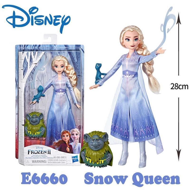 Bộ đồ chơi búp bê Elsa cùng Pabie và Salamander E6660