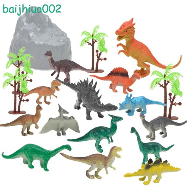 Kids Dinosaur Figures Toys Educational For Dinosaur Model Realistic Boys Girls