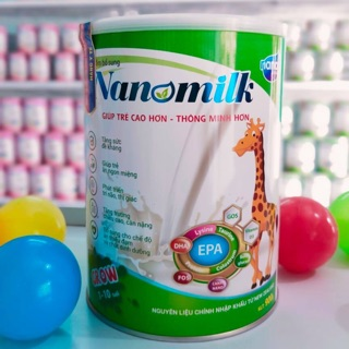 Nanomilk grow dinh dưỡng cho sự phát triển toàn diện
