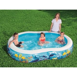 Bể Bơi Phao Số 8 KT 2.62m x 1.57m x 46cm – Bestway 54118