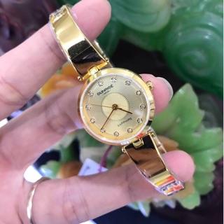 Đồng hồ nữ dây lắc pull vàng hiệu Sunrise hàng chính hãng