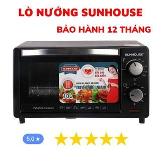 Lò Nướng Điện Sunhouse, Lò Vi Sóng 10L Chính Hãng Bảo Hành 12 Tháng thumbnail